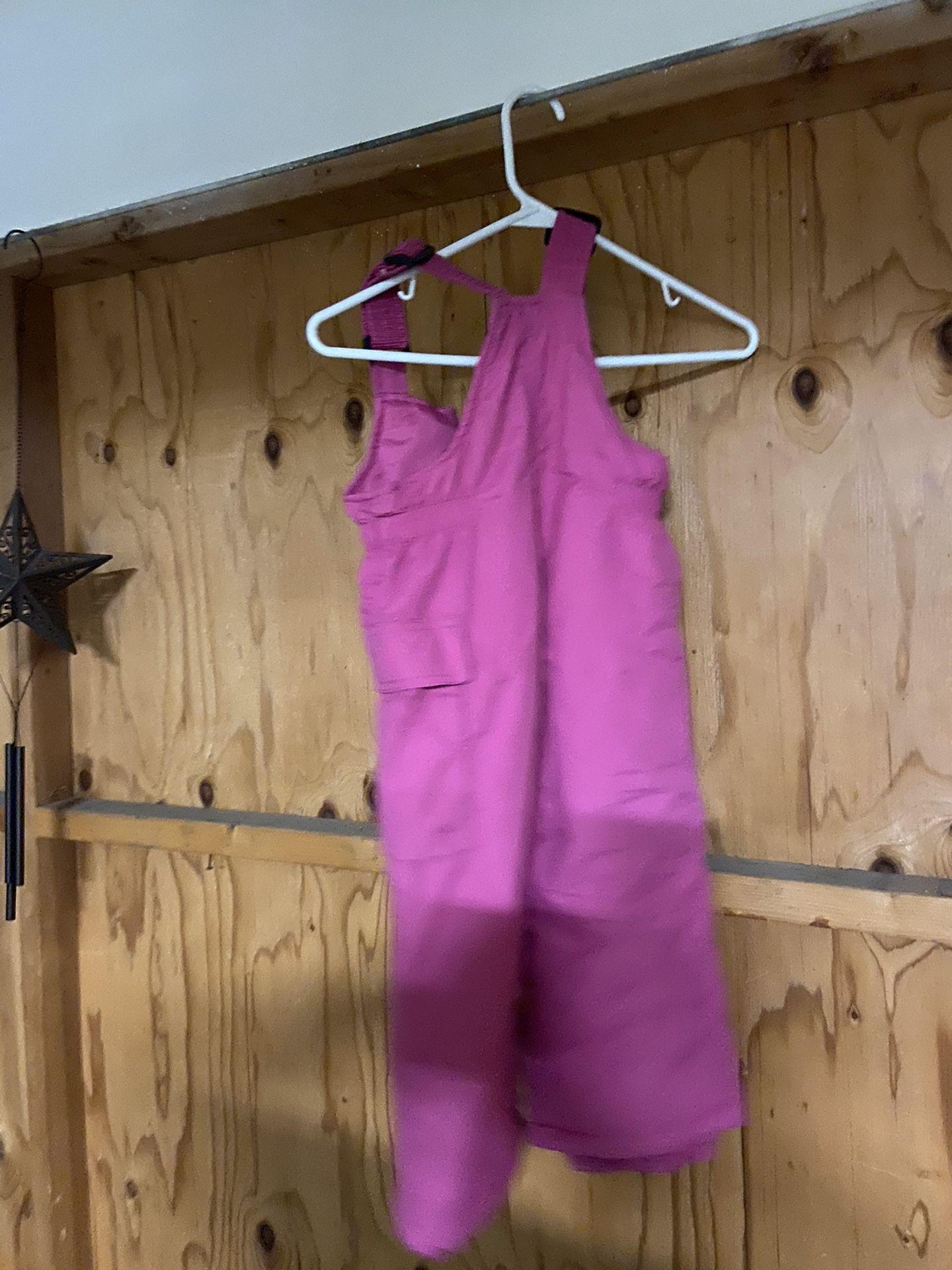 4t girls snow overalls