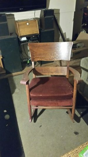 Old rocking chair for Sale in Gig Harbor, WA