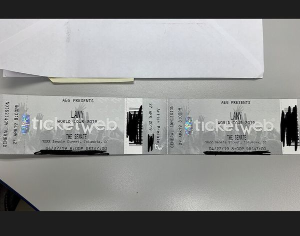 LANY World Tour 2019 for Sale in Spartanburg, SC - OfferUp