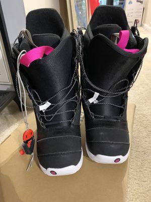 Burton Mint Snowboarding Boots (size 6) for Sale in Occoquan, VA