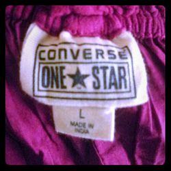 Converse one star large red dress. Thumbnail