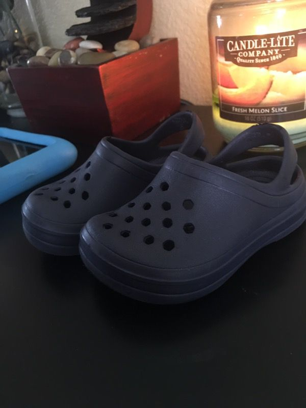 Baby crocs size 3/4 from toys r us