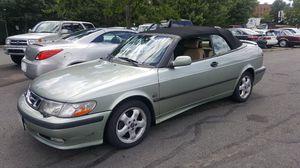 2001 Saab 93 convertible excellent condition low miles 112k for Sale in Manassas, VA