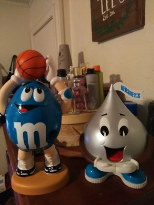 Large vintage M&M and Hershey kisses dispensers for sale  Claremore, OK
