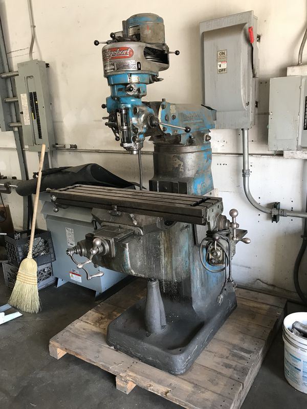 Bridgeport Mill For Sale >> Bridgeport Mill For Sale In Gardena Ca Offerup