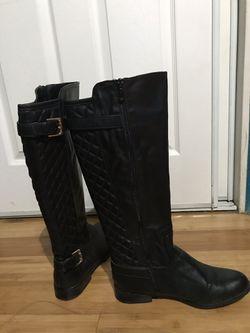 Black Leather Boots Thumbnail