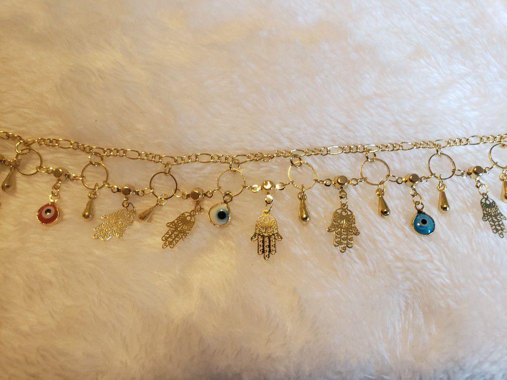 14k Oro Laminado Bracelet
