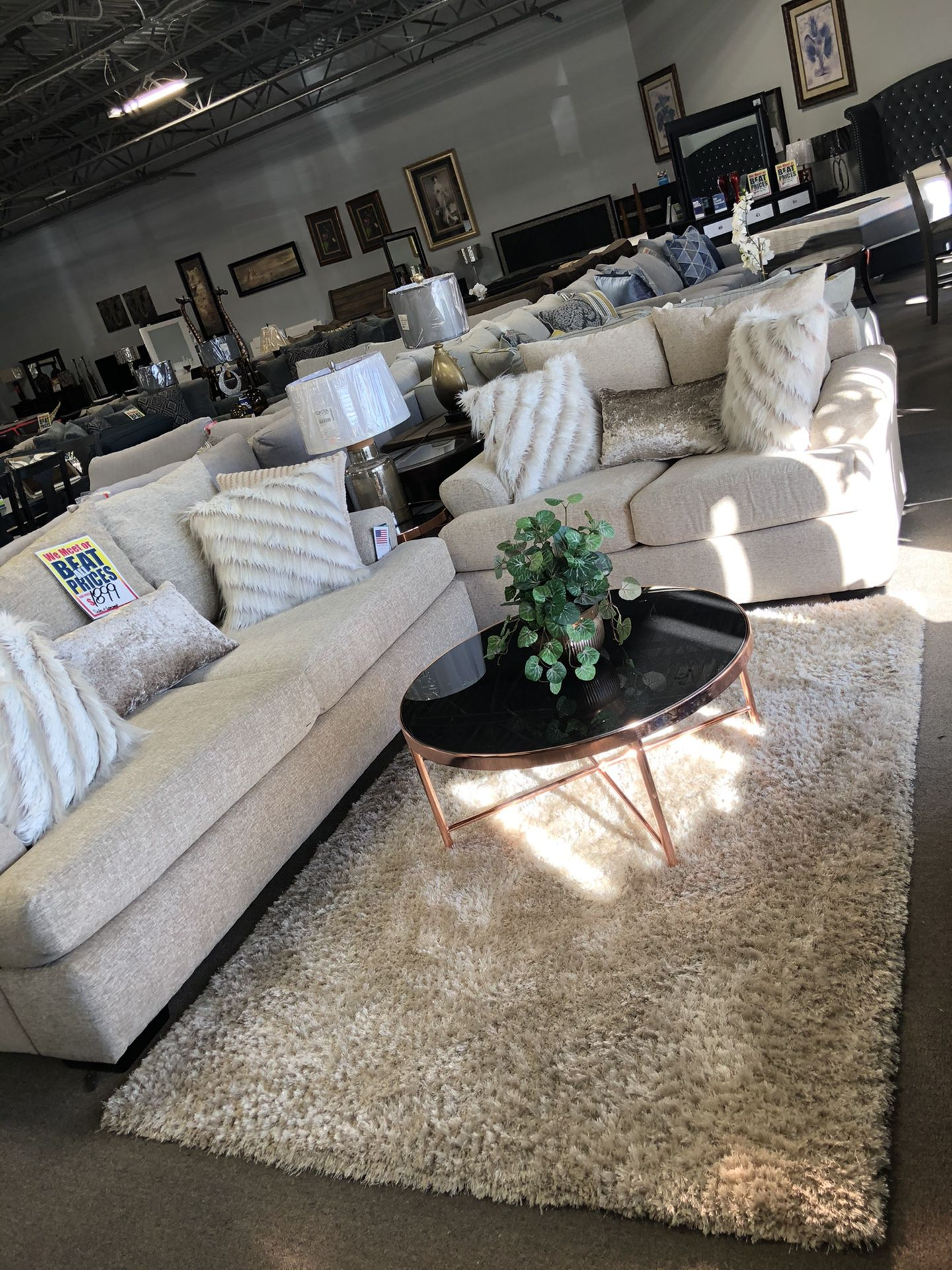 GORGEOUS SOFA AND LOVESEAT 😍‼️‼️ Easy Financing! $27 DOWN . 90 Days Same As Cash ! NO CREDIT NEEDED🙌🙏🙏🥂
