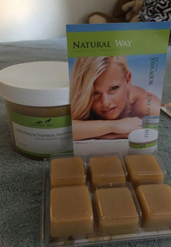 Natural way wax