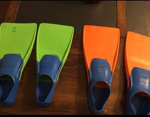 Kids swimming fins for Sale in Chantilly, VA