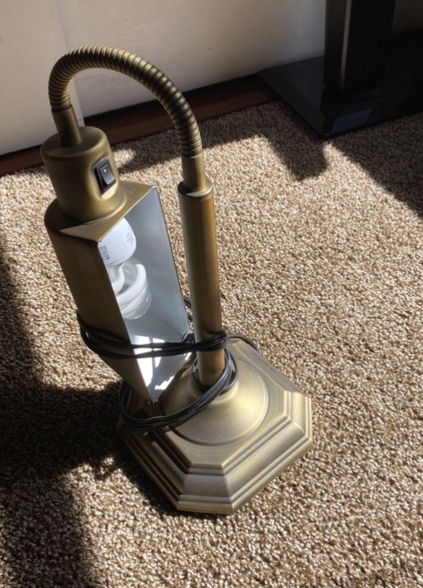 Brand New Desk Light Heavy Brass