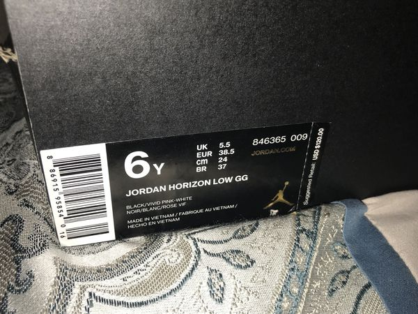 nouveau produit 3ea3d fda77 Jordan's Horizon Low Size 6 for Sale in Mascotte, FL - OfferUp