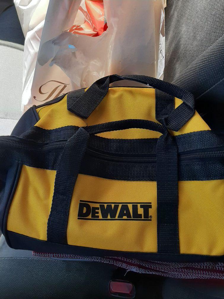 Dewalt 20v tool bag.