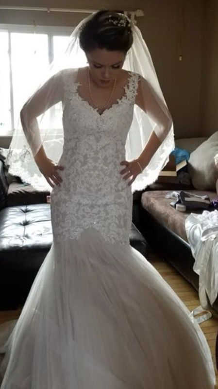 Wedding Dress Size 2 Cash Only No Cashier Check For Sale In