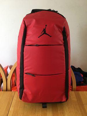 Brand new Nike air Jordan backpack water resistant laptop storage bred for Sale in El Cajon, CA