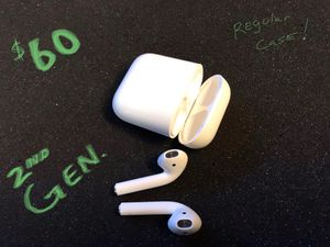 Photo Stereo Headphones Apple AirPods 2nd gen regular case $60 Please don't waste our time requesting a lower price. Cross roads are Higley & Queen Creek