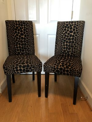 2 DINING CHAIRS $15 EACH for Sale in Washington, DC