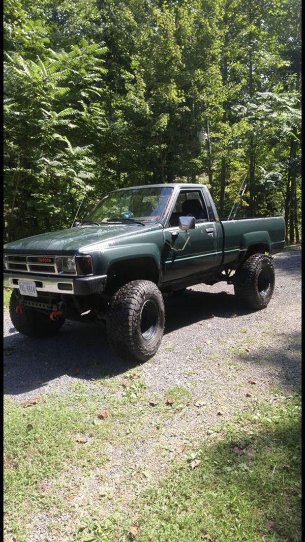 1987 toyota pickup bumper