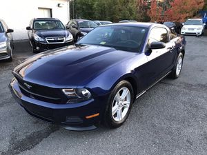 2012 ford mustang blue Auto for Sale in Manassas, VA