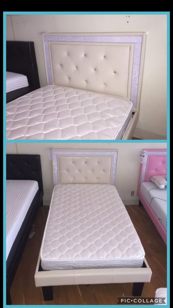 Queen Bed Frame With Mattress Included For Sale In Peoria AZ
