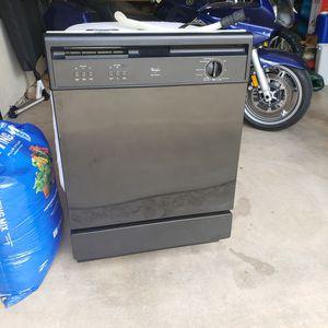 Photo Black GE Dishwasher