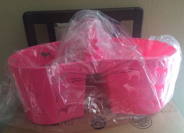 Pink Shower Caddy and Bath Wrap *$35 for both for Sale in Fontana ...