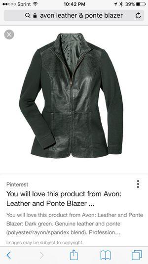 Brand new leather & pointe blazer for Sale in Darnestown, MD