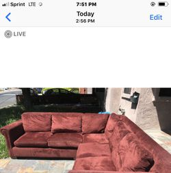Couch ( two piece) Thumbnail