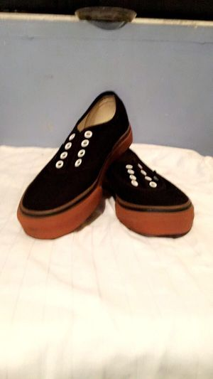 6323f5a61730d2 Kids 2.5 Vans shoes - black tan for Sale in Redondo Beach
