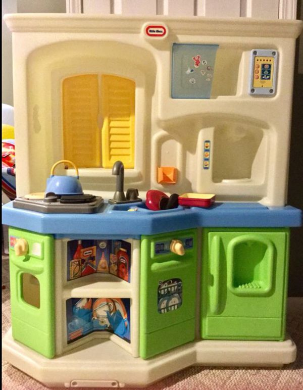 Little Tikes Play Kitchen | Little Tikes Play Kitchen With Playfood And Kitchen Utensils Accessories