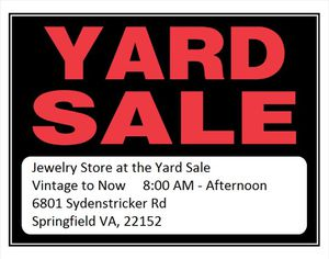 OHECA Community Yard Sale for Sale in West Springfield, VA