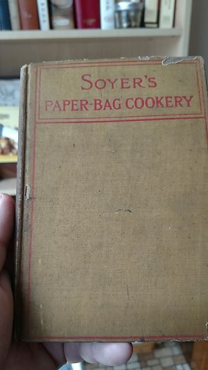 1911 soyers paper-bag cookery for Sale in Appomattox, VA