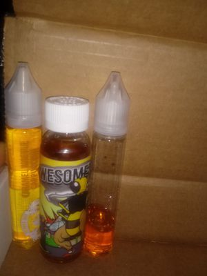 ***6mg NICOTINE ***60ml Milk&honey ejuice& 30ml carmel waffle cappuccino. Looking to TRADE FOR OTHER EJUICE for Sale in Martinsburg, WV