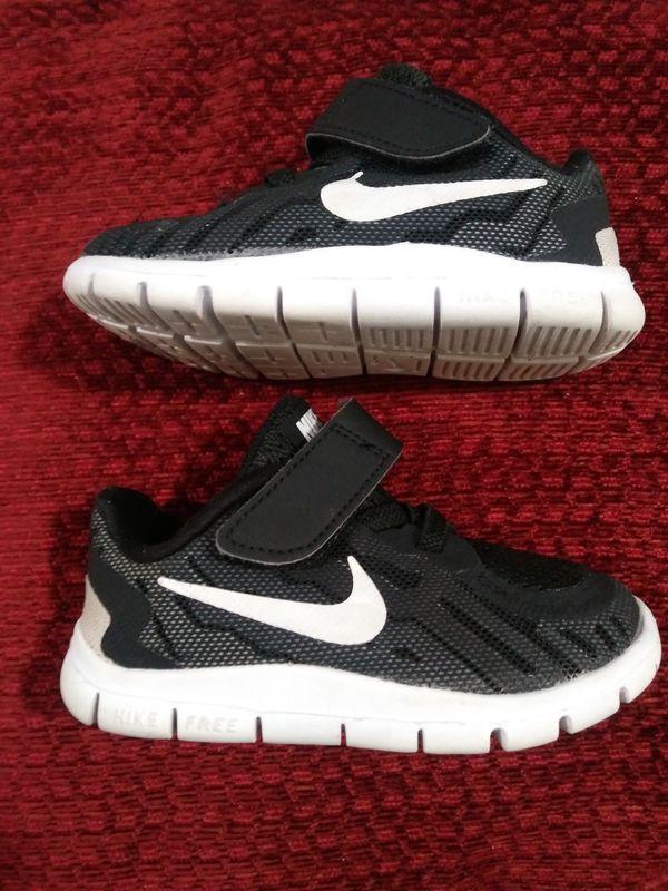 new arrivals 72b1f 89afb Nike FREE 5.0 INFANT TODDLER RUNNING SHOE (BLACK/DARK GREY/WHITE) for Sale  in Detroit, MI - OfferUp