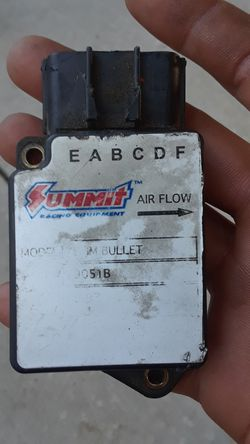 Summit racing mass air flow sensor 7.5mm bullet fits 89-93 5.0 Thumbnail