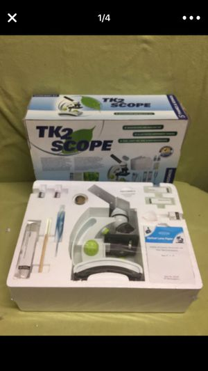 TK2 scoop microscope & biology science kit thane & kosmos NEW IN BOX NAVER OPEN for Sale in San Francisco, CA