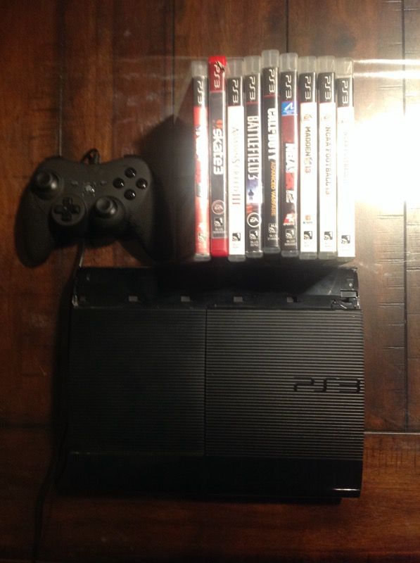 PS3 Super Slim for Sale in Bellingham, WA - OfferUp