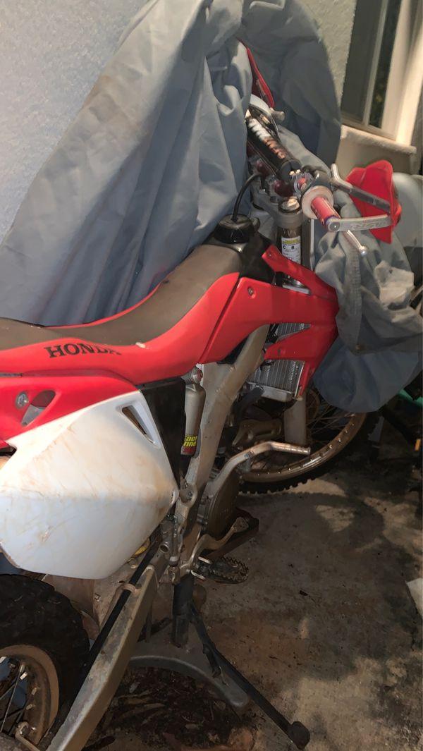 Honda crf 250f $3,500