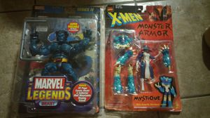 COLLECTIBLES TOY FIGURES MARVEL ASKING$50.00 FOR BOTH for Sale in Phoenix, AZ