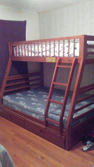 Full/Twin Over Bunk Bed for Sale in Manassas, VA