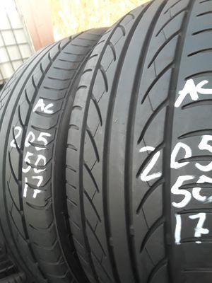 205/50-17 #2 tires for Sale in Alexandria, VA