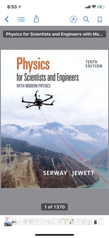 Physics For Scientists and Engineers with Modern Physics 10th Edition for  Sale in Chicago, IL - OfferUp