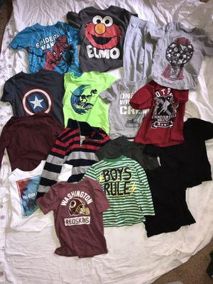 Bag full of 3T/2T clothing for boys for Sale in Germantown, MD