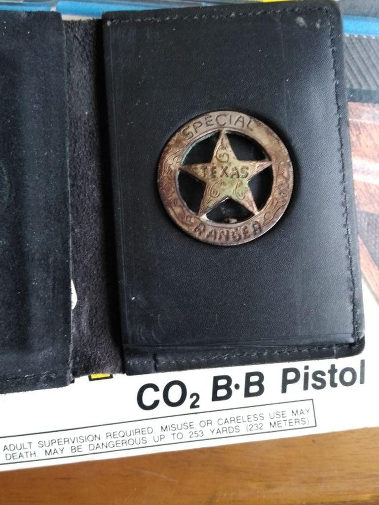 Texas Rangers Badge Test Silver