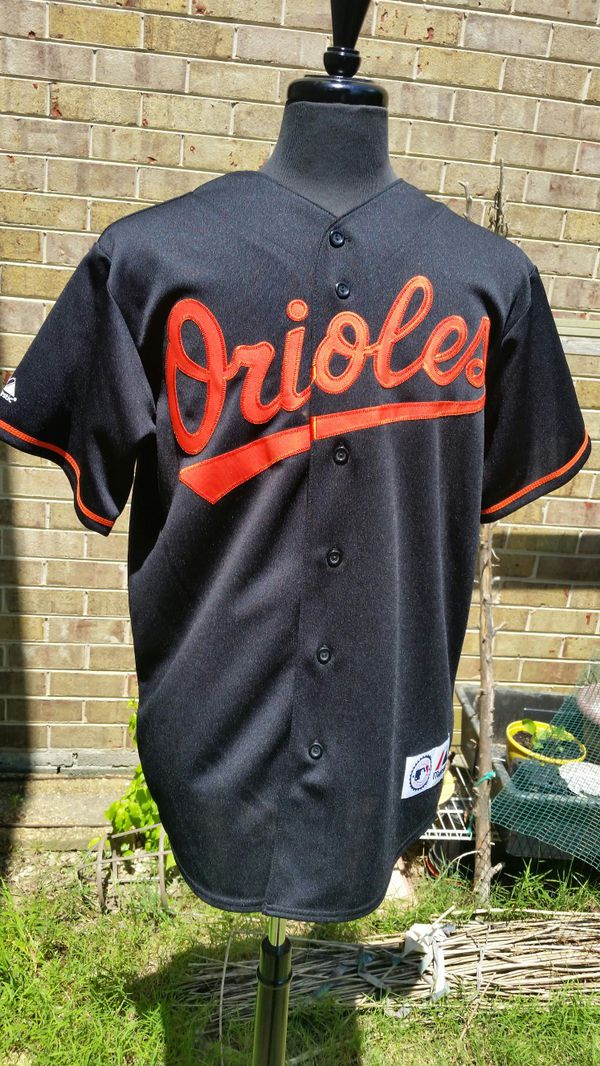 8156b7a6a Vintage Majestic Orioles Jersey size LARGE crisp! Like new! for Sale ...