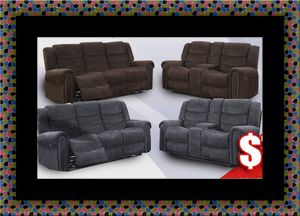 Grey or chocolate recliner set for Sale in Adelphi, MD