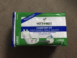Vet's Best Comfort-Fit Male Wraps for Sale in Alexandria, VA