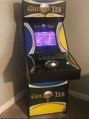 Photo Original 1997 Golden Tee Arcade Game