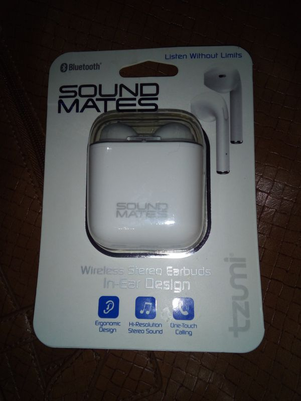 Tzumi Sound Mates Wireless Earbuds Manual