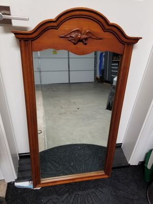 Photo Mirror in real wood frame